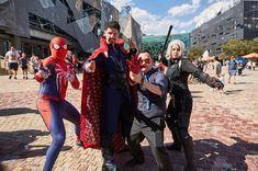 AVENGERS... partially Assemble..! Photographer: @marvelaunz Spider-Man: Myself Doctor Strange: @doctor.rj.00 Tony Stark: @cluelesscosplaydude Black Widow: @bondunlockedcosplay #marveluniverse #marveluniverseunites #withgreatpowercomesgreatresponsibility #spiderverseapart #hero #avengers #avengersinfinitywar #avengersassemble #tonystark #ironman #blackwidow #natasharomanoff #marvelaunz #spiderman #avengers #marvel #marvelhero #superhero #spider #insomniac #insomniacspiderman #comix #comiccon…
