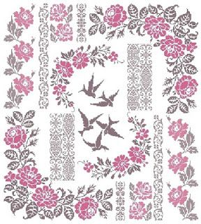 Aquarelle: ✿BIRDS SAMPLER