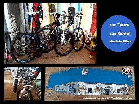 New bike rental in the shop #magmasurfshop #Lajares