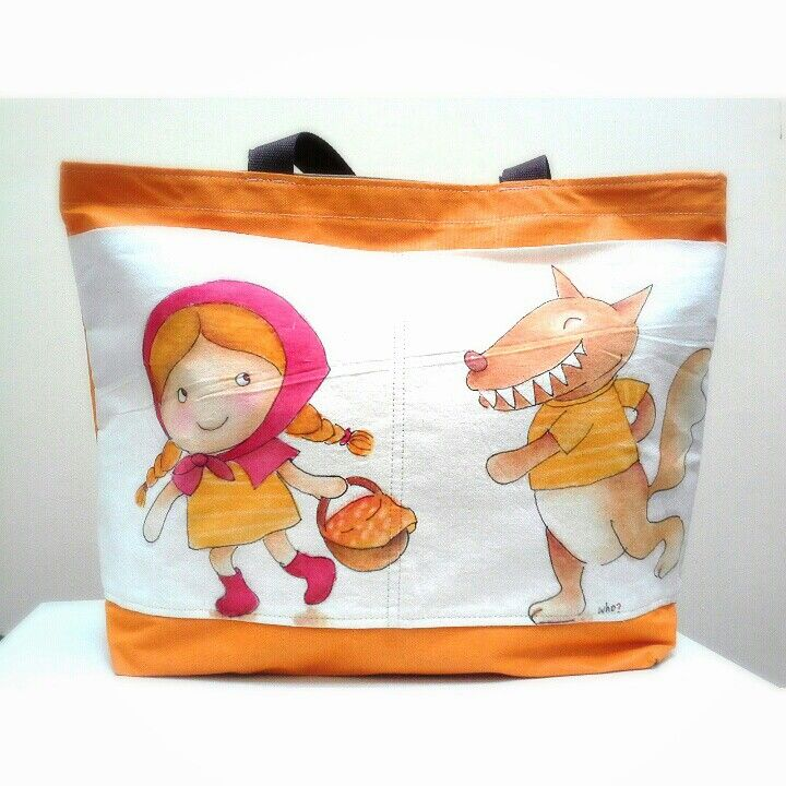 Red riding hood totebag