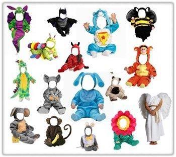 Psd детские костюмы бесплатно