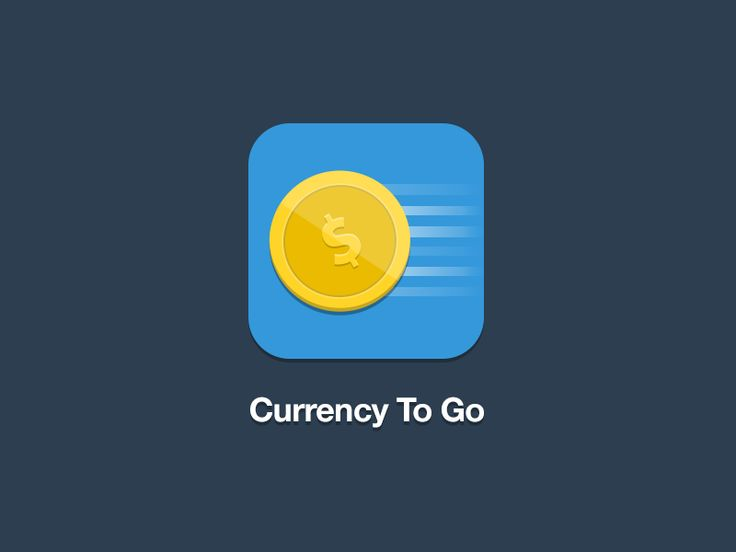 Icon for an app called - Currency To Go