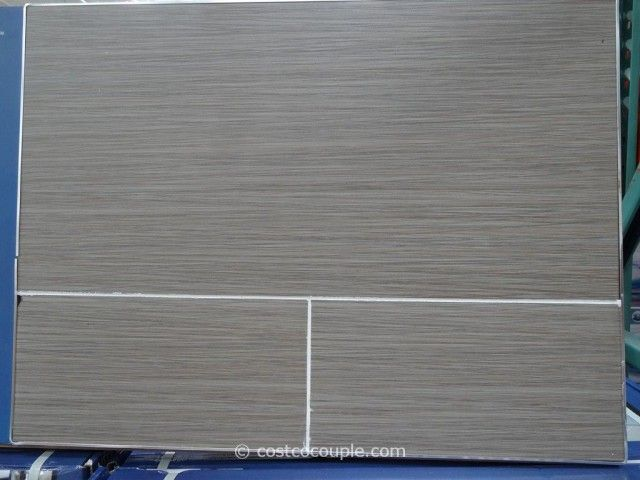 Neo Tile Urban Groove Light Grey Porcelain Tile Costco 5