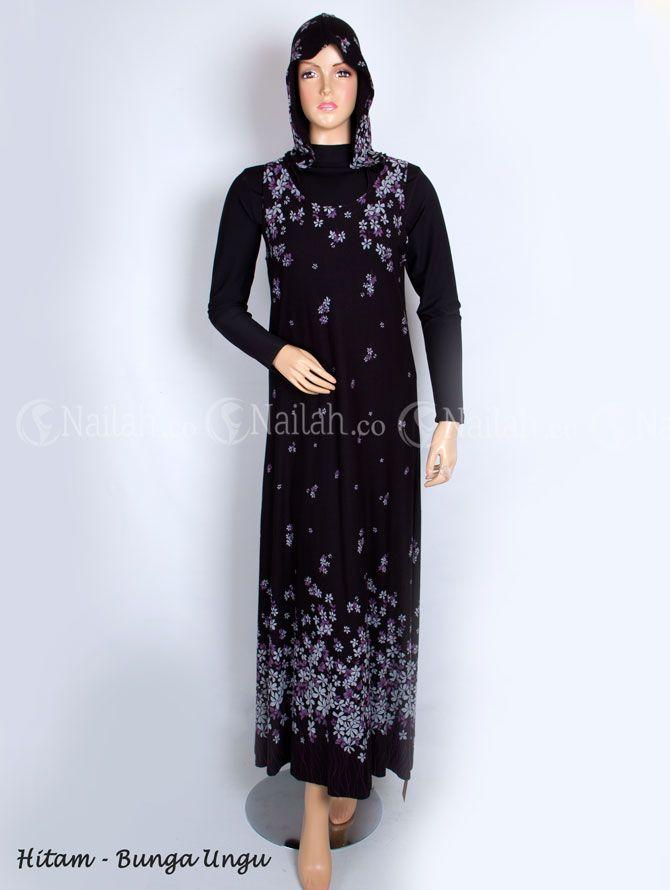 Maxidress tanpa lengan dengan hoodie  Harga Rp. 139.000,- Order: Hp: 081315351727 BB: 748A8C99