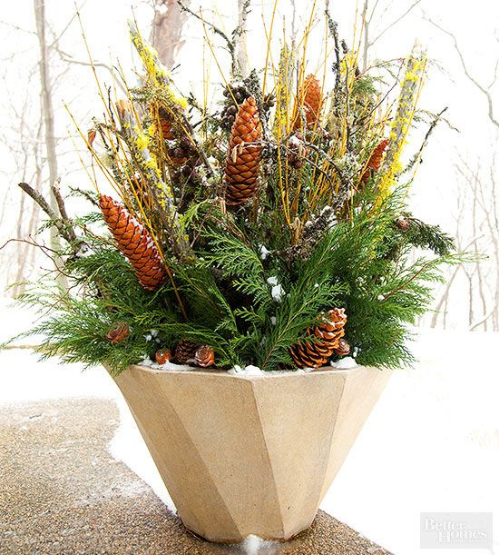 17 best images about fall colors and preparations on pinterest gardens fall flowers and - Winter container garden ideas ...