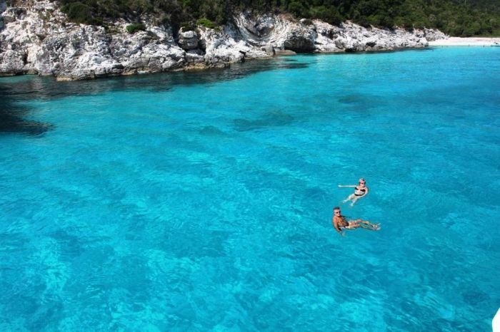Floating in ionian