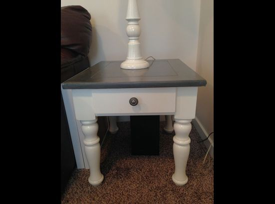 This Is Refinished Broyhill Furniture Coffee Table And