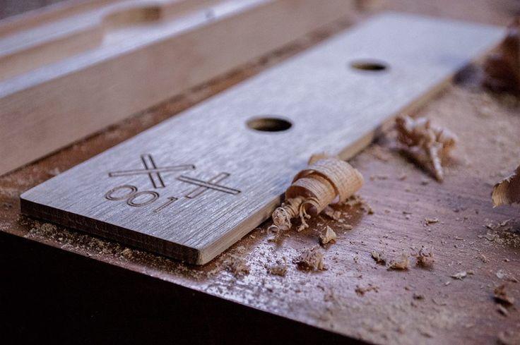 The XPLUS RAW and MATTE watch box, CNC cut solid Tasmanian Oak. Available soon on Kickstarter. www.xplus.com.au