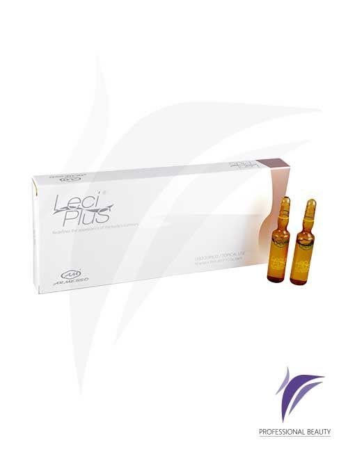 Leci Plus Caja x10 ampolletas de 5ml: El Leci Plus es un tratamiento indicado para grasa rebelde localizada, moldeamiento corporal y reducción de medidas. Recomendado para pacientes con metabolismo lento.