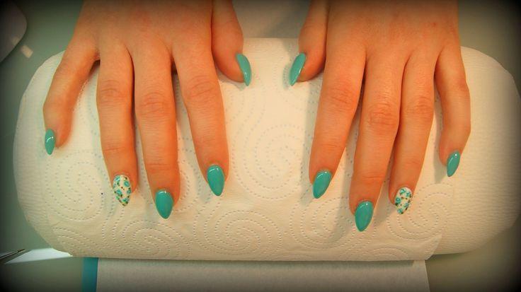 Paznokcie żelowe. #manicure #nails #paznokcie