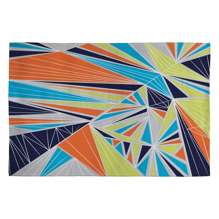 Vy La Tech It Out Retro Woven Rug | DENY Designs Home Accessories