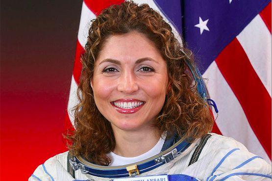 Anousheh Ansari, the first Muslim woman in space. Pic: NASA