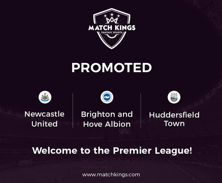 Take a note, www.matchkings.com managers! 3 new teams join us in the 2017-18 Fantasy football journey! #MatchKhelo #PL #fpl #fantasysoccer #soccer #fantasyfootball #football #fantasysports #sports #fplindia #fantasyfootballindia #sportsgames #gamers  #stats  #fantasy #MatchKings
