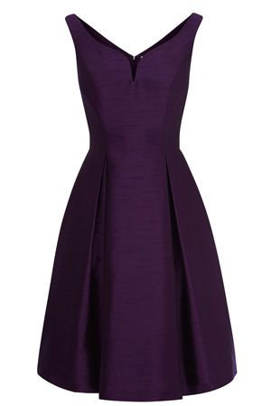Love the color, and cute dress for wedding.
