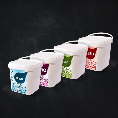 Reva Tarım - Ürün Ambalaj Tasarımı - Product Packaging Design - Plastik Kutu Etiket Tasarımı - Plastic Box Label Design