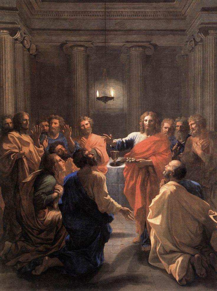 Institution of the Eucharist,1640, Nicolas Poussin