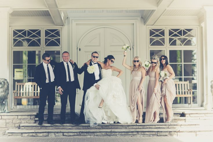 Best wedding party at King Valley Golf Club - Images captured by PurpleTree Wedding Photography.