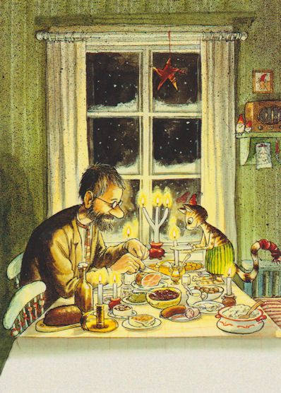 Christmas Dinner - Pettson and Findus