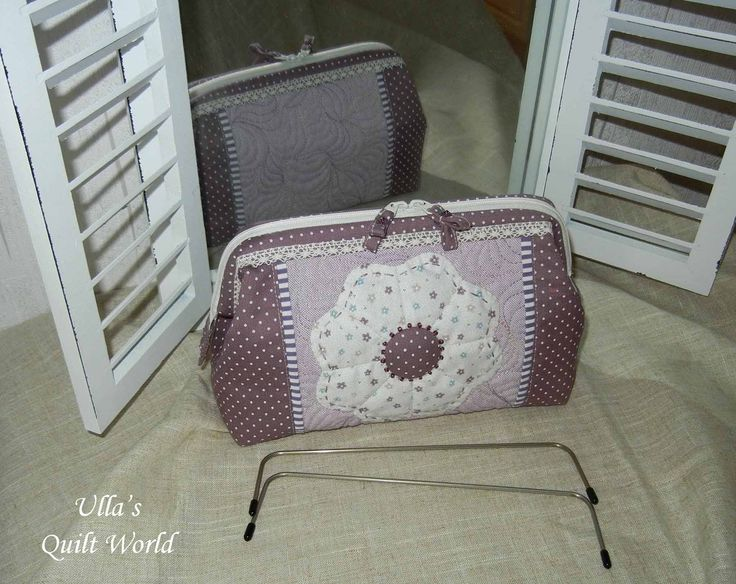 Quilted pouch by Ulla's Quilt World