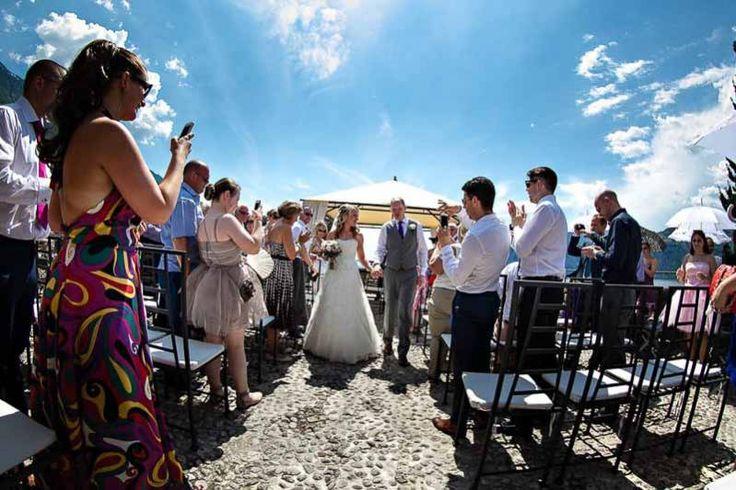 Romantic Weddings on Lake Garda | Wedding planners for the most romantic Lake Garda weddings in Italy. Rivellino terrace, Malcesine Castle.