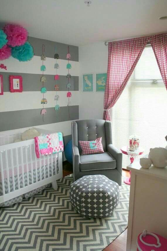 Dětský pokoj - Barvy, vzory, hezké.