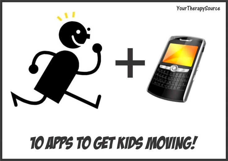 10 Apps that Get You Moving  -  Pinned by @PediaStaff – Please Visit http://ht.ly/63sNt for all our pediatric therapy pins