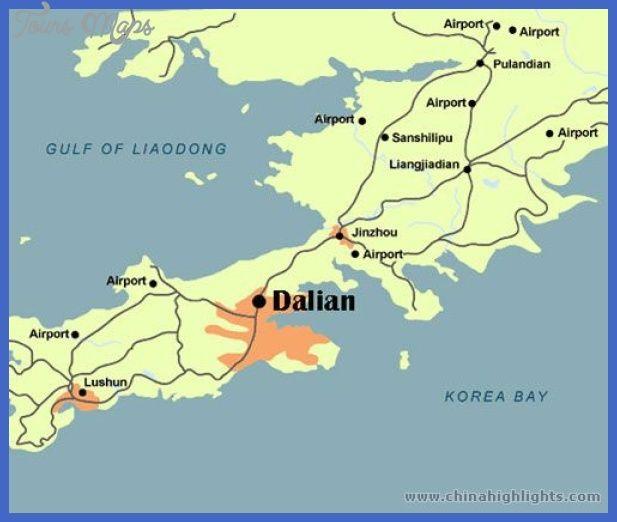 awesome Dalian Subway Map