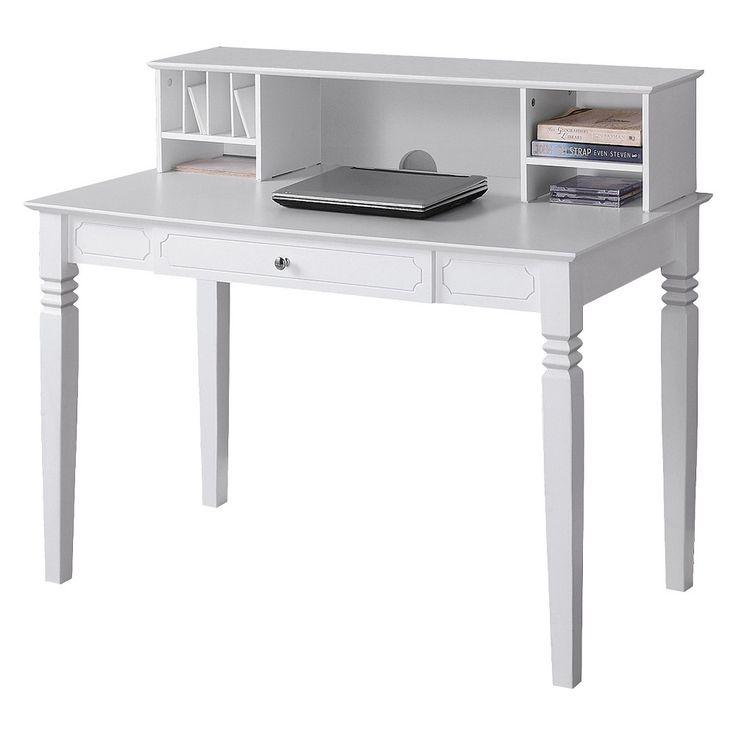 Best 25+ White Desk With Hutch Ideas On Pinterest