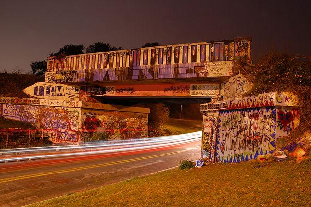 Graffiti Bridge - Pensacola, Florida by fisherbray, via Flickr