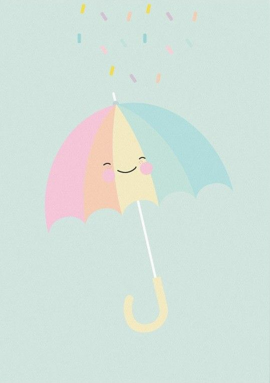 pastellette umbrella