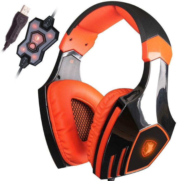 Vibration Function and 7.1 Surround Sound Professional Gaming Headphone Earphone