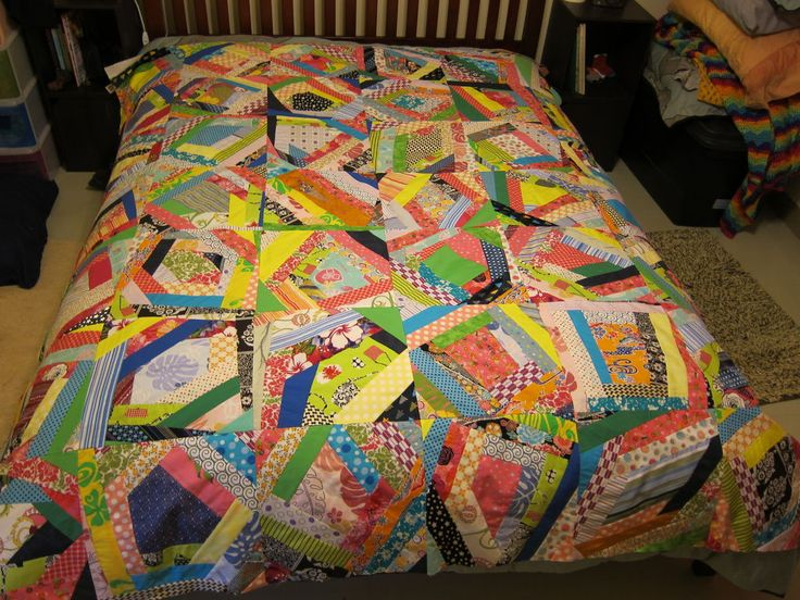 How To Sew An Easy Crazy Quilt Block Quilting For