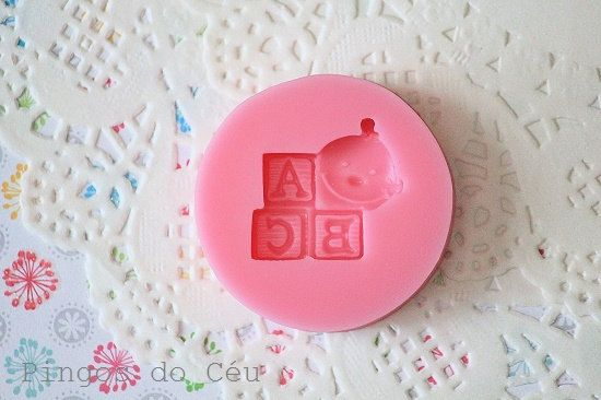ABC Baby  Baby Shower Silicone Mold  Candy  by pingosdoceu on Etsy, €3.25