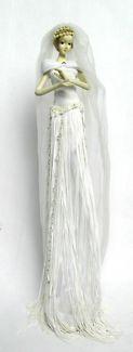 $30 BRIDE STATUE Decor Bridal DOLL Figurine 7x36cm Text 0411691171 or email info@bitspencer.com