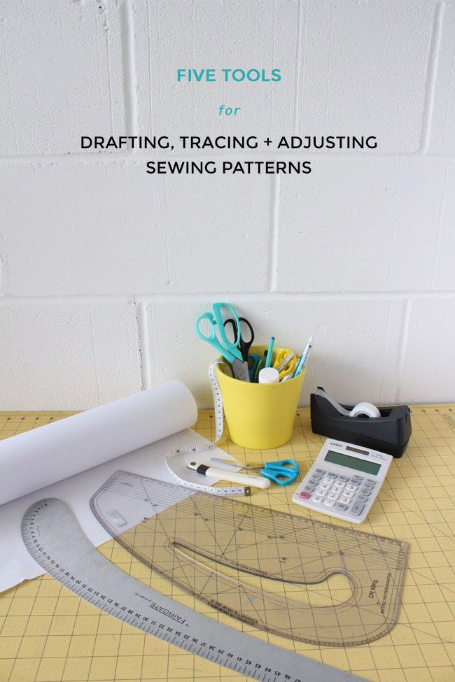 Five Tools for Drafting, Tracing and Adjusting Sewing Patterns