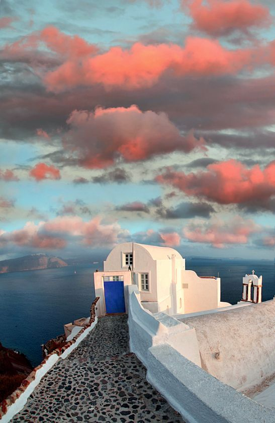 Santorini, Greece, one of the most beautiful and picturesque destinations. Explore Santorini's 10 Best Cultural Restaurants: Enjoying Greek Eats and Fine Dining at TheCultureTrip.com