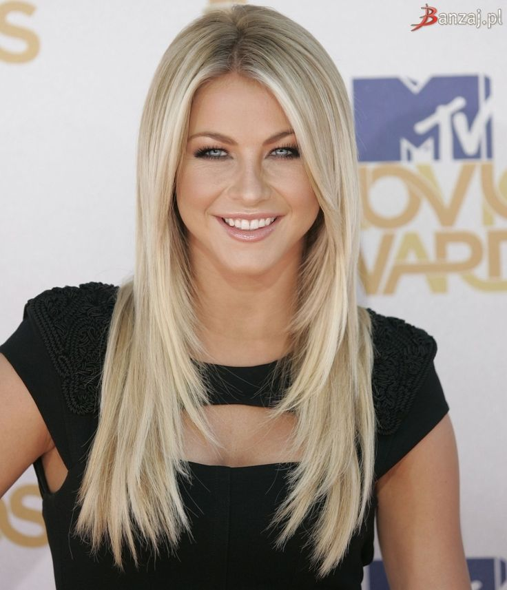 Julianne Hough long hair