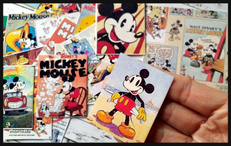 Vintage Mickey Planner-Mickey Stickers,Journal Kawaii Dairy Note Planner Sticker