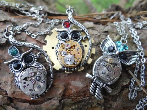Steampunk Owls!