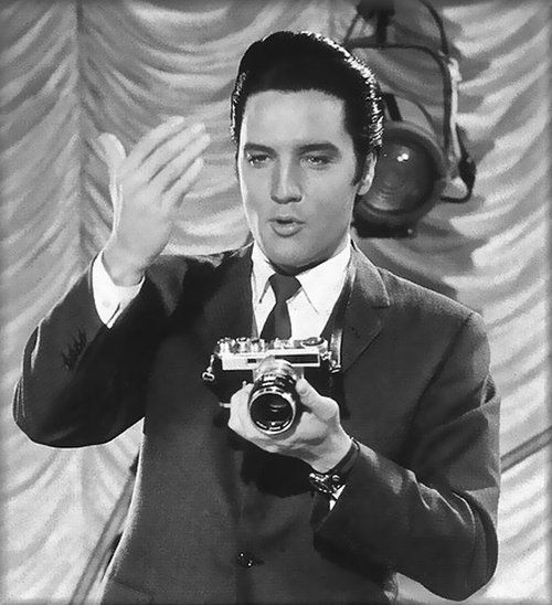 Elvis    anthony luke's not-just-another-photoblog Blog: Famous People With a Camera