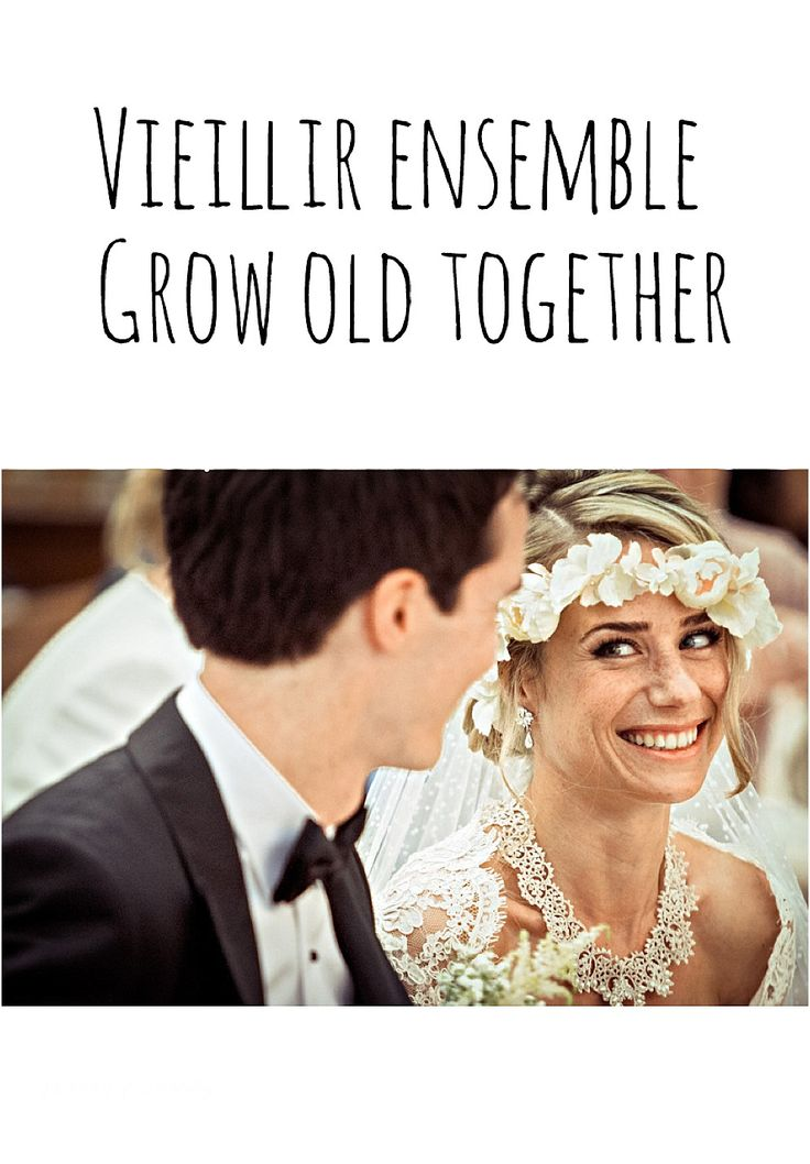 Vieillir ensemble - Grow old together - Happy Chantilly