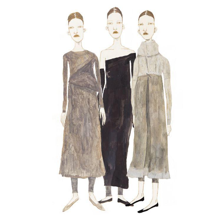 Por Luísa Graça Frida Wannerberger Com uma precisão delicada e um olhar bastante peculiar, Frida Wannerberger desenha garotas que conhece ou que gostaria de ser. Imagina uma história para cada uma, como se fossem personagens, e assim consegue capturar a essência das roupas que as vestem. Baseada em Londres, onde se formou pela Central St. Martins e leciona na London College of Fashion, a sueca usa lápis, tinta acrílica e, principalmente, aquarela para criar ilustrações sutis, intrincadas e…