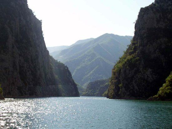 Lake Koman, Albania