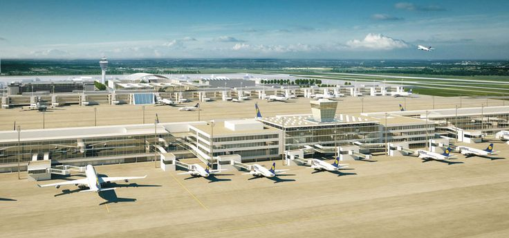 Flughafen München, Terminal 2 - München