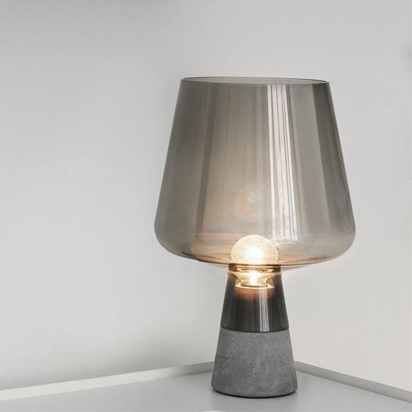 Leimu lamp small, grey, by Iittala.