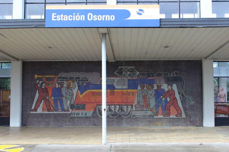 Mosaico estación Osorno. Febrero 2014