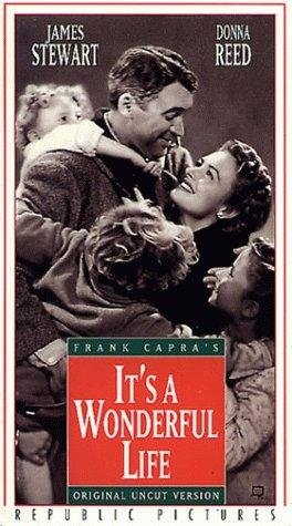 """It's a Wonderful Life"" (1946) Starring Jimmy Stewart & Donna Reed. A great must see movie for anyone , any time of year. What a beautiful message with such wonderful meaning. It brings tears to my eyes every time and makes me feel so thankful for my life. Love this movie !!! Epic and Timeless !!"