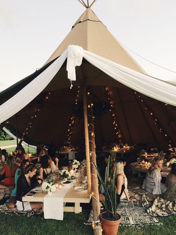 Un tipi pour mon mariage - en Belgique aussi! — Blog mariage 100% belge