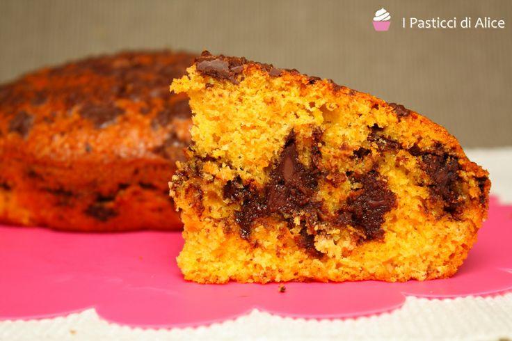 Torta di Carote Cioccolato e Cocco