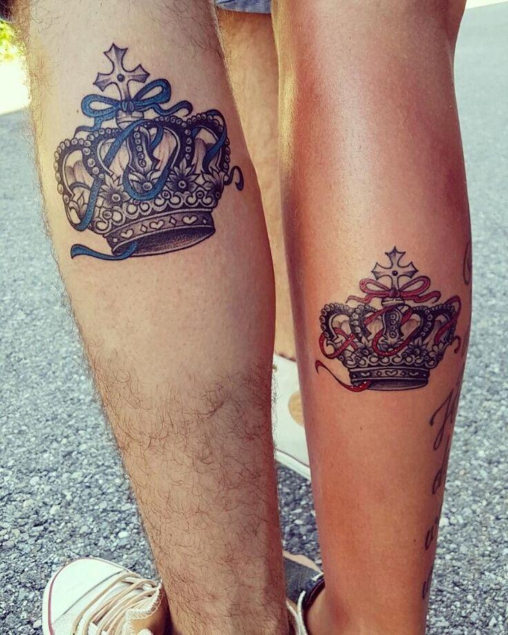25+ Beste Ideeën Over Crown Tattoo Design Op Pinterest